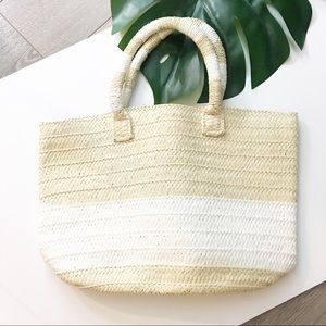 Altru | Straw beach bag